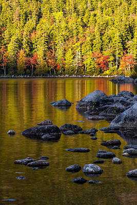 Lake Photograph - Acadian Glow by Chad Dutson
