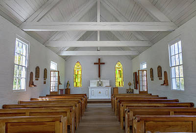 Photograph - Acadian Village Church by Tim Stanley