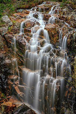 Carriage Road Photograph - Acadia's Hadlock Falls by Rick Berk