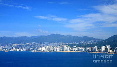 Photograph - Acapulco Bay by Randall Weidner