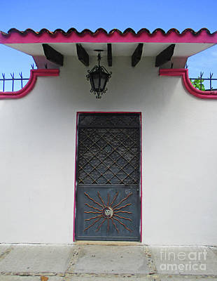 Photograph - Acapulco Door 1 by Randall Weidner