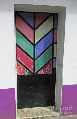 Photograph - Acapulco Door 2 by Randall Weidner