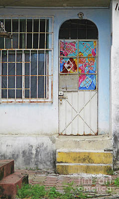 Photograph - Acapulco Door 3 by Randall Weidner