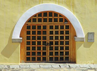 Photograph - Acapulco Door 5 by Randall Weidner