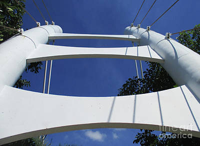 Photograph - Acapulco Footbridge 2 by Randall Weidner