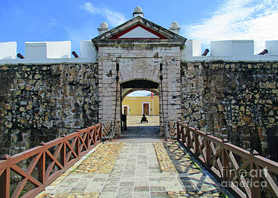 Photograph - Acapulco Fort 1 by Randall Weidner