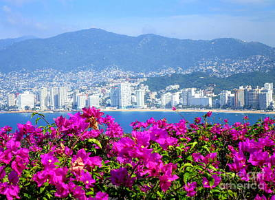 Photograph - Acapulco Viewpoint by Randall Weidner