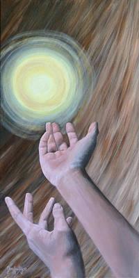 Painting - Acceptance by Melissa Joyfully