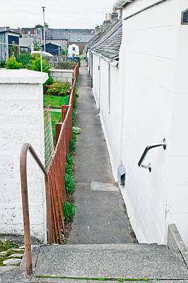 Old Neighbourhood Photograph - Access Path by Tom Gowanlock