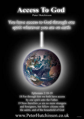 Photograph - Access To God by Peter Hutchinson
