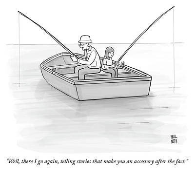 Drawing - Accessory After The Fact by Paul Noth