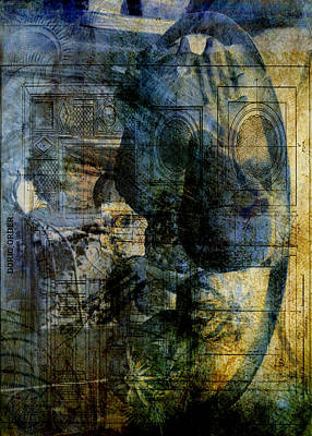 Digital Art - Accidental Abstract by Sarah Vernon