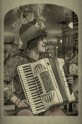 Photograph - Accordion Music by John Haldane