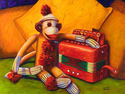 Painting - Accordion by Shannon Grissom