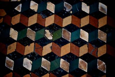 Photograph - Accordion Tiles by Eric Tressler