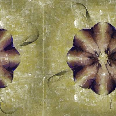 Accusals Distribution Flowers  Id 16164-224613-31100 Art Print