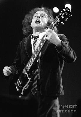 Acdc-96-angus-0117 Art Print by Timothy Bischoff