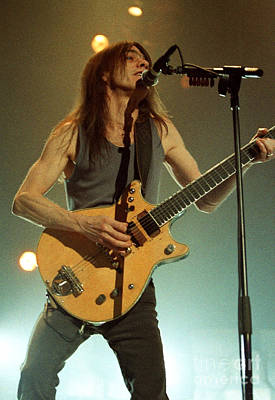 Concert Photograph - Acdc-96-malcolm-0125 by Timothy Bischoff