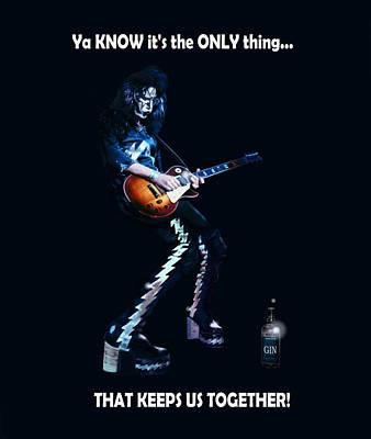 Ace Cold Gin Frehley Art Print