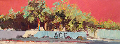 Painting - Ace It by Kathleen Strukoff