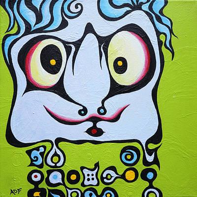 Ace Kid Mark Art Print