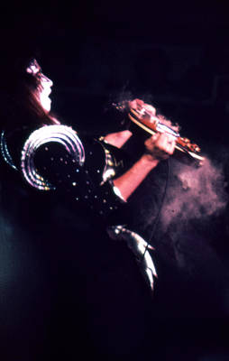 Ace Frehley Photograph - Ace Kiss 1976 by Lawrence Movera