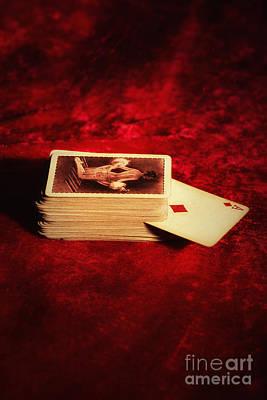 Raunchy Photograph - Ace Of Diamonds by Amanda Elwell