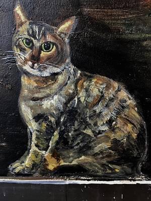 Painting - Acebebecanvas by Belinda Low