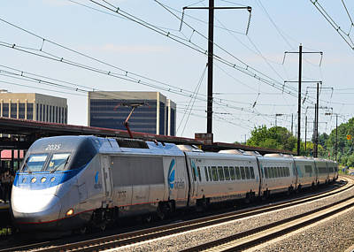 Photograph - Acela Express by Jim Poulos