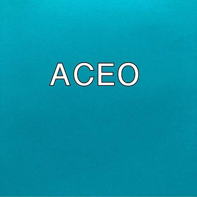 Painting - Aceo Logo by Darice Machel McGuire