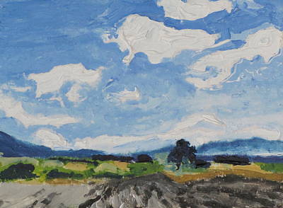 Eastern Townships Painting - Aceo No. 2015-2 by Francois Fournier