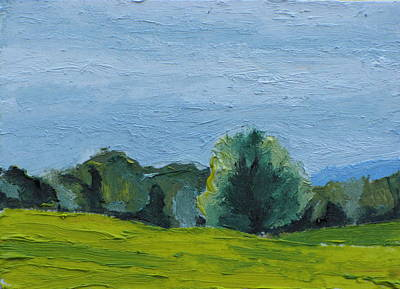 Eastern Townships Painting - Aceo No. 2015-23 by Francois Fournier