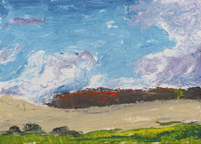 Eastern Townships Painting - Aceo No.2016-02 by Francois Fournier