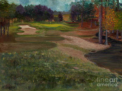 Viridian Painting - Aces In The Hole By Marilyn Nolan-johnson by Marilyn Nolan-Johnson