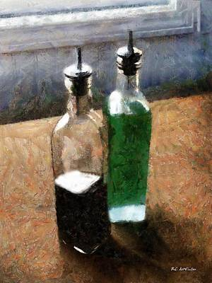 Aceto E Olio Art Print by RC deWinter