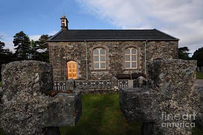 Scottish Highlands Wall Art - Photograph - Acharacle Church by Smart Aviation