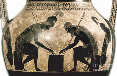Photograph - Achilles & Ajax, C540 B.c by Granger