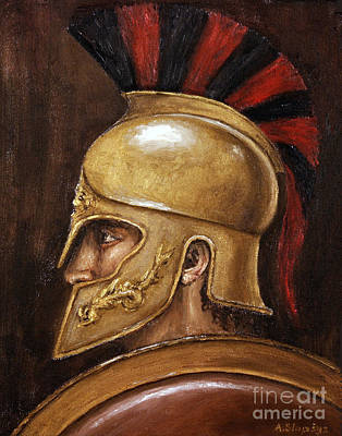 Achilles Art Print by Arturas Slapsys