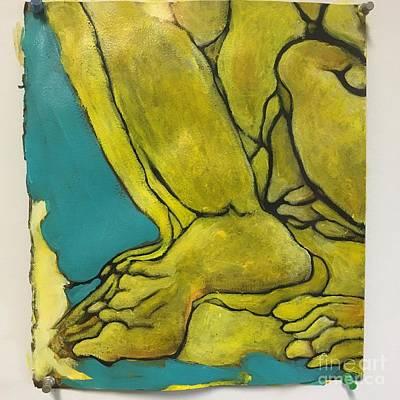 Painting - Achilles Heel by Michelle Spiziri