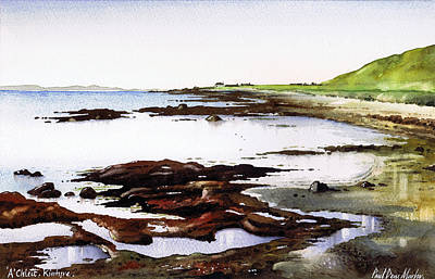 Scotland Painting - Achleit Kintyre by Paul Dene Marlor