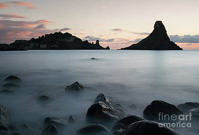 Photograph - Aci Trezza At Sunrise by Giovanni Malfitano