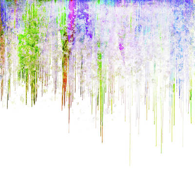 Drippy Digital Art - Acid Rain by Christina VanGinkel