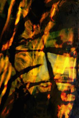 Digital Art - Acid Rain - Vertical B by Richard Andrews