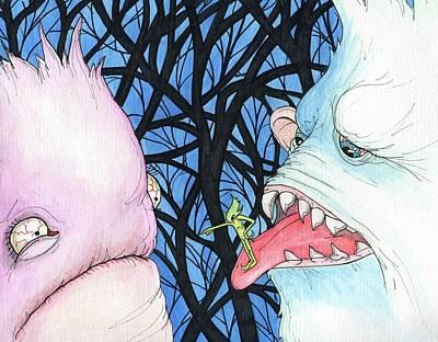 Painting - Acid Reflux by Julie McDoniel