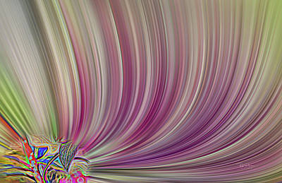 Digital Art - Acid Trip 3 by Bill Posner