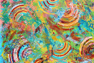 Vivid Colour Painting - Acid Trip 3 by Sumit Mehndiratta