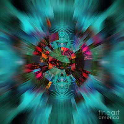 Acid Trip Print by Elizabeth McTaggart