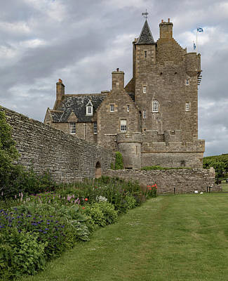 Photograph - Ackergill Tower 1173  by Teresa Wilson