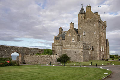Photograph - Ackergill Tower 1190 by Teresa Wilson