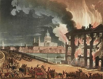 Microcosm Painting - Ackermann, Rudolph The Microcosm Of London. London  R. Ackermann, 1808-1810 by Artistic Rifki